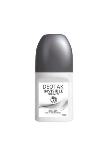 Deotak DEOTAK Invisible For Men Roll-On Deodorant 35 ml Renksiz